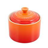 Açucareiro de cerâmica Le Creuset laranja 300 ml - 25028