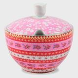 Açucareiro Ribbon PiP Studio Rosa Floral - Decorafast