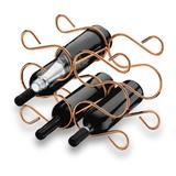 Adega Caracol Para 6 Garrafas Vinho Bancada - Cobre - Future
