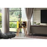 Adega Cordel 12 Garrafas Amarelo - Be mobiliário