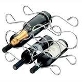 Adega P/ 6 Garrafas Champanhe Vinho Aço Cromado 1362 Future