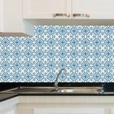 Adesivo de Azulejo - Azulejo Português - 20cm x 20cm - 24un - 002Azme - Allodi
