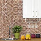 Adesivo de Azulejo para Cozinha Barroco 15x15cm 36un - Quartinhos