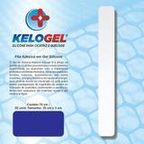Adesivo em gel de silicone para cicatriz   3x70cm ( 2 fitas de 35cm ) kelogel