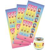 Adesivo para Lembrancinha Rainbow Ruby 36 unidades Festcolor - Festabox