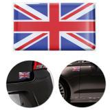 Adesivo Resinado Poliéster Bandeira do Reino Unido 9cm Aplicação em Verso Autocolante - Emblemax