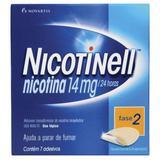 Adesivo Transdérmico Nicotinell 14mg - 7 Adesivos - Novartis