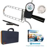 Adipômetro Cientifico E Software de avaliação física Physical Test 8 Vitalício - Prime med