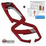 Adipômetro Clínico Prime Med Neo Vinho Physical Test 2.98