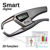 Adipômetro Digital Smart Cinza ( 29 Funções ) Physical Test 8.0 - Prime med