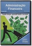 Administracao financeira - audiolivro - 1 cd