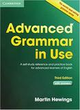 Advanced Grammar In Use Book With Answers - Cambridge