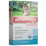 Advantage Max3 Protetor Contra Leishmaniose (1ML) 4 a 10KG - Bayer