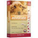 Advocate Cães (2,5ML) 10 a 25KG - Bayer