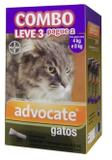 Advocate Gatos 0,8ml 4 a 8kg Combo Leve 3 Pague 2 - Bayer