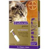 Advocate Gatos - 0,8ml - Gatos entre 4 e 8Kg - Bayer