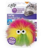 Afp brinquedo para gatos cat nip fluffer ball - rosa - All for paws