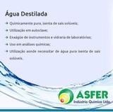 Água Destilada 1Litros - Asfer
