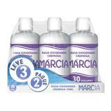 Água Oxigenada Cremosa Marcia 30 Volumes 70ml 3 unidades