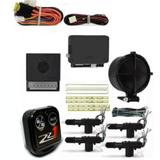 Alarme Automotivo Carro com Bloqueio + Kit Trava Eletrica 4 P - Lookout
