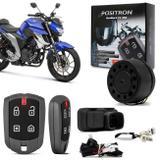 Alarme Moto Pósitron DuoBlock Fx G8 Yamaha Fazer 150 250 XTZ 150 Crosser YBR 150 Factor 2018 - Positron