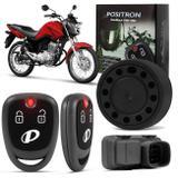 Alarme Moto Universal Positron Duoblock PRO 350 G8 Função Presença Sensor Movimento Com 2 Controles