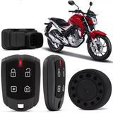 Alarme P/ Moto Honda Positron Duoblock Fx 350 G8 Dedicado Nova Twister 16  18