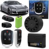 Alarme Pósitron Cyber TX 360 Universal Carro e Caminhão Função Presença e Pânico Com Bateria Bivolt - Positron