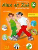 Alex  et zoe 2 (a1.2) - n/e - livre de leleve+livret de civilisation - Cle international - paris