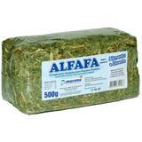 Alfafa Prensada 500g - Hamster, Chinchila, Porquinho - Murano