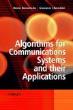 Algorithms for communications systems and their applications - Jwe - john wiley
