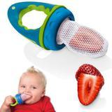 Alimentador Para Bebês Com Rede De Pano Multikids Baby Azul