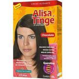 Alisante Capilar Alisa e Tinge Chocolate 80g - Alisa tinge