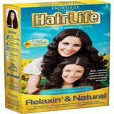 Alisante capilar hair life 160g relaxo natural - Sem marca