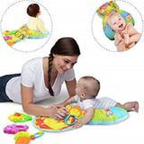 Almofada divertida para bebe 2 em 1 travesseiro infantil de atividades e dormir brinquedo com acesso - Faça  resolva