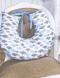 Almofada para Amamentação 1 peça Classic Nuvem Azul - I9 baby