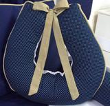 Almofada para Amamentação 1 peça Dorminhoco Azul Marinho - I9 baby