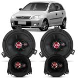 "Alto Falante Corsa Sedan Hatch Classic Wagon Pickup 1994 A 2013 Foxer 5 E 6"" 200W RMS Triaxial Kit"