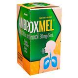 AmbroxMel 30mg 5ml sabor mel e eucalipto cimed