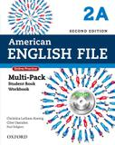 American english file 2a multipack with online practice and ichecker - 2nd ed - Oxford university