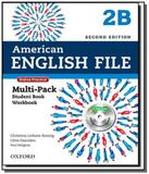 American english file - level 2b - multipack with - Oxford