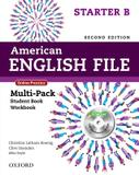 American english file starter b multipack with  online practice and ichecker - 2nd ed - Oxford university