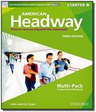 American headway starter b multipack with online d - Oxford