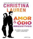 Amor E Odio Irresistiveis - Universo dos livros