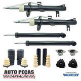 Amortecedores Dianteiros e Traseiros (MONROE) + Kit Batente Completo (V8) Ecosport - 2003 até 2012 - Monroe / v8