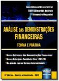 Análise das Demonstracoes Financeiras Teoria e Prática - Jurua