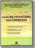 Analise financeira das empresas                 05 - Freitas bastos