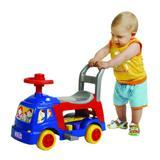 Andador 4 em 1 Azul Com Atividades Para Bebe - Magic Toys
