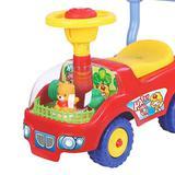 Andador de Bebê Carrinho Ursinho Motoca Volante e Buzina - Amarelo - Dm Toys