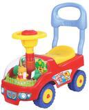 Andador de Bebê Carrinho Ursinho Motoca Volante E Buzina Vermelho - Dm